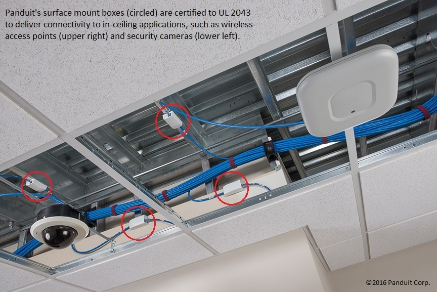 Simplify In Ceiling Installation With Panduit Surface