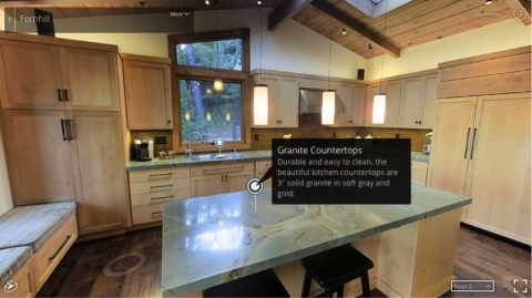 Matterport's new Mattertag Posts are text-based comments anchored to a point in 3D to provide rich contextual detail while a viewer is navigating within the virtual model. (Photo: Business Wire)