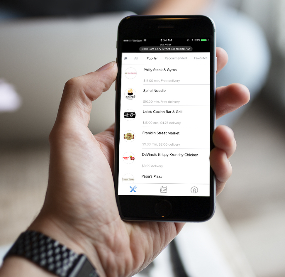 OrderUp from Groupon App Launches in Richmond, Offering On-demand ...