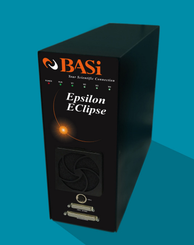 BASi introduces Epsilon EClipse™ as the newest addition to its industry-leading Electrochemical Analyzer family of instrumentation. (Photo: Business Wire)