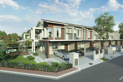 2-story terrace house in Maple @ Hillpark Shah Alam North (Graphic: Business Wire)