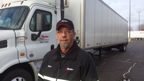 Mike Mitchell, Driver of the Year winner for Ryder SCS. (Photo: Business Wire)