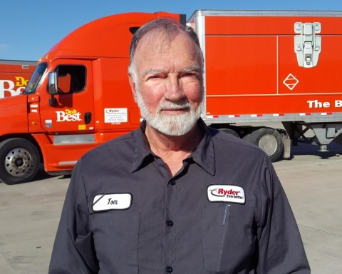 Tom Brunke, Driver of the Year winner for Ryder DTS. (Photo: Business Wire)