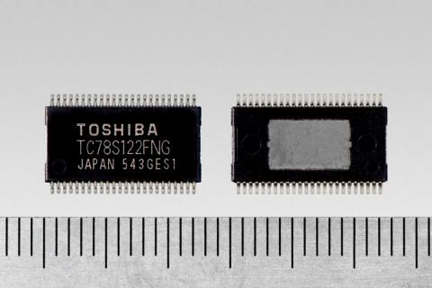 "TOSHIBA: a bipolar 2-channel stepping motor driver ""TC78S122FNG"" offering a high voltage of 40V and  ..."