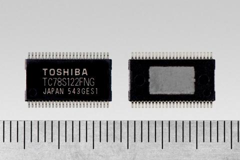 東芝:最大定格40Vで定格電流2.0A のバイポーラ・2chステッピングモータドライバ「TC78S122FNG」 (写真:ビジネスワイヤ)