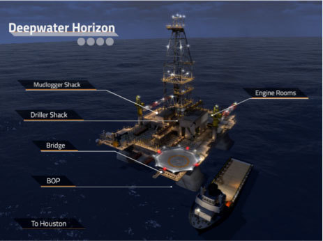 Deepwater Horizon Interactive Touchscreen (Photo: Business Wire)