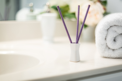 EnviroScent Bed & Bath Sticks™ are a mess-free fragrance option for your home's most personal spaces. (Photo: Business Wire)