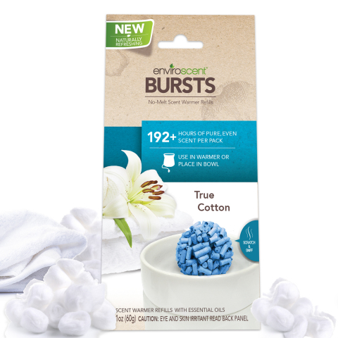 EnviroScent Bursts™ contain 100 percent fragrance and no harmful chemicals, making them a safe spring-cleaning option. (Photo: Business Wire)