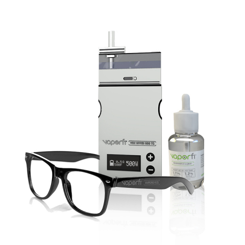International Vapor Group, Inc. has developed the world's 1st invisible vaping innovation. The VaporFi VOX Invisi 500 TC, InvisiVape E-Liquid and VaporEyes Glasses is a revolutionary line of products that make vapor 100% invisible. (Photo: Business Wire)