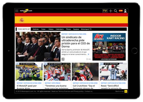 Motorsport.com, compañía tecnológica y proveedora de contenidos digitales domiciliada en Miami, ha a ...