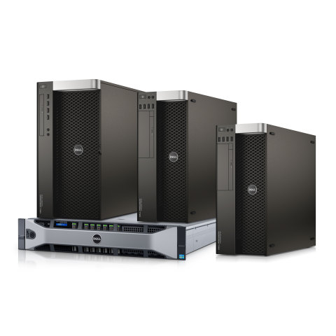 Dell announced upgrades to its Dell Precision Tower 5810, 7810, and 7910 Workstations and Rack 7910 including increased performance, graphics, and memory for VR content creation. (Photo: Business Wire)