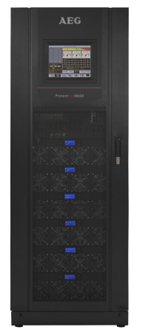 Protect Plus M600 180kVA, Modular UPS by AEG Power Solutions (Photo: Business Wire)