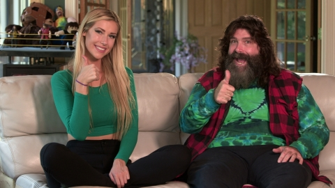Mick Foley and Noelle (Photo: Business Wire)