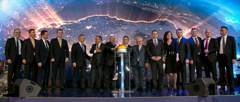 Turkcell Board, CEO, management team, business partners and other stakeholders switched on the 4.5G  ...