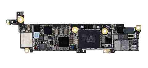 IHS Teardown: iPhone SE Main PCB, Bottom (Photo: Business Wire)