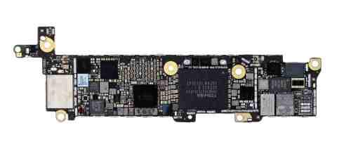 IHS Teardown: iPhone SE Main PCB, Bottom (Photo: Business Wire)