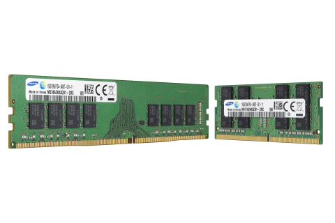 Industry's First 10nm-class DRAM, from Samsung (Photo: Business Wire)