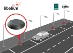 New smart parking solution by Libelium with Double Radio LoRaWAN / Sigfox (Photo: Business Wire)