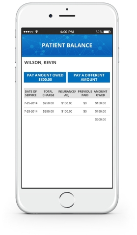 With SwervePay's payment tool, patients can better communicate around cost of care, understand payment options, and pay their bill on the go and in a way that is convenient for them. (Photo: Business Wire)