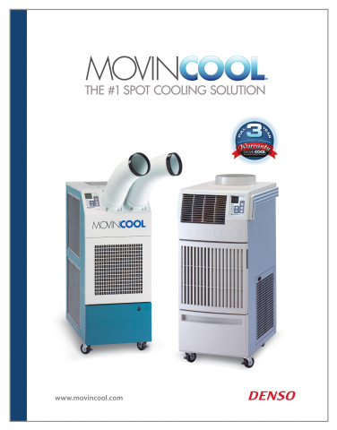 The MovinCool 2016 product catalog offers detailed information and specifications for the entire lin ...
