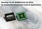 Renesas Electronics RH850/E1M-S2 MCUs bring more precise control to automotive powertrain control applications that provide high performance and advanced functionality to enable improved fuel efficiency. (Photo: Business Wire)