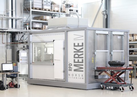 Precision Holdings joins Norsk Titanium's integrated supply chain to conduct downstream operations on precision Rapid Plasma Deposition(TM) components produced by Norsk's MERKE IV additive manufacturing machines. (Photo: Business Wire)