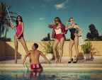 "The Pool Boy is Captivated by the Power of Five Confident Women on Their European Adventure in European Wax Center's latest spot, ""Pool Boy"""