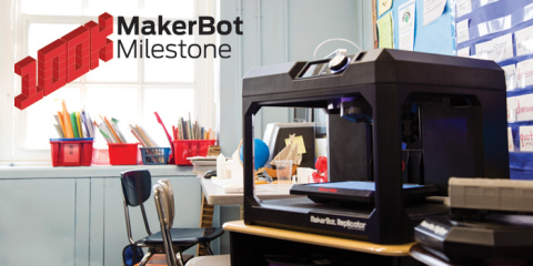 MakerBot has sold more than 100,000 3D printers worldwide (Photo: Business Wire)