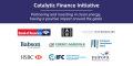 L'iniziativa finanziaria catalitica (Catalytic Finance Initiative, CFI) riunisce banche e investitori, dirige 8 miliardi di dollari in capitale per progetti sostenibili ad impatto elevato