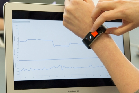 Cambridge Cognition has unveiled the first wearable for monitoring mental health in Boston this week. (Photo: Business Wire)
