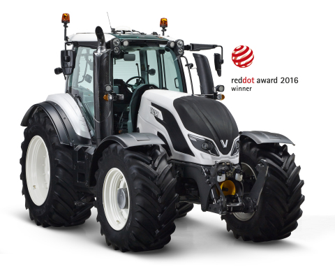 The Valtra T4 Series is the result of seven years of research and development. (Photo: Business Wire ...