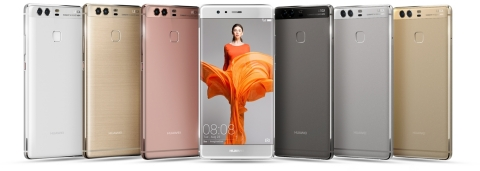 Huawei P9 (Photo: Business Wire)