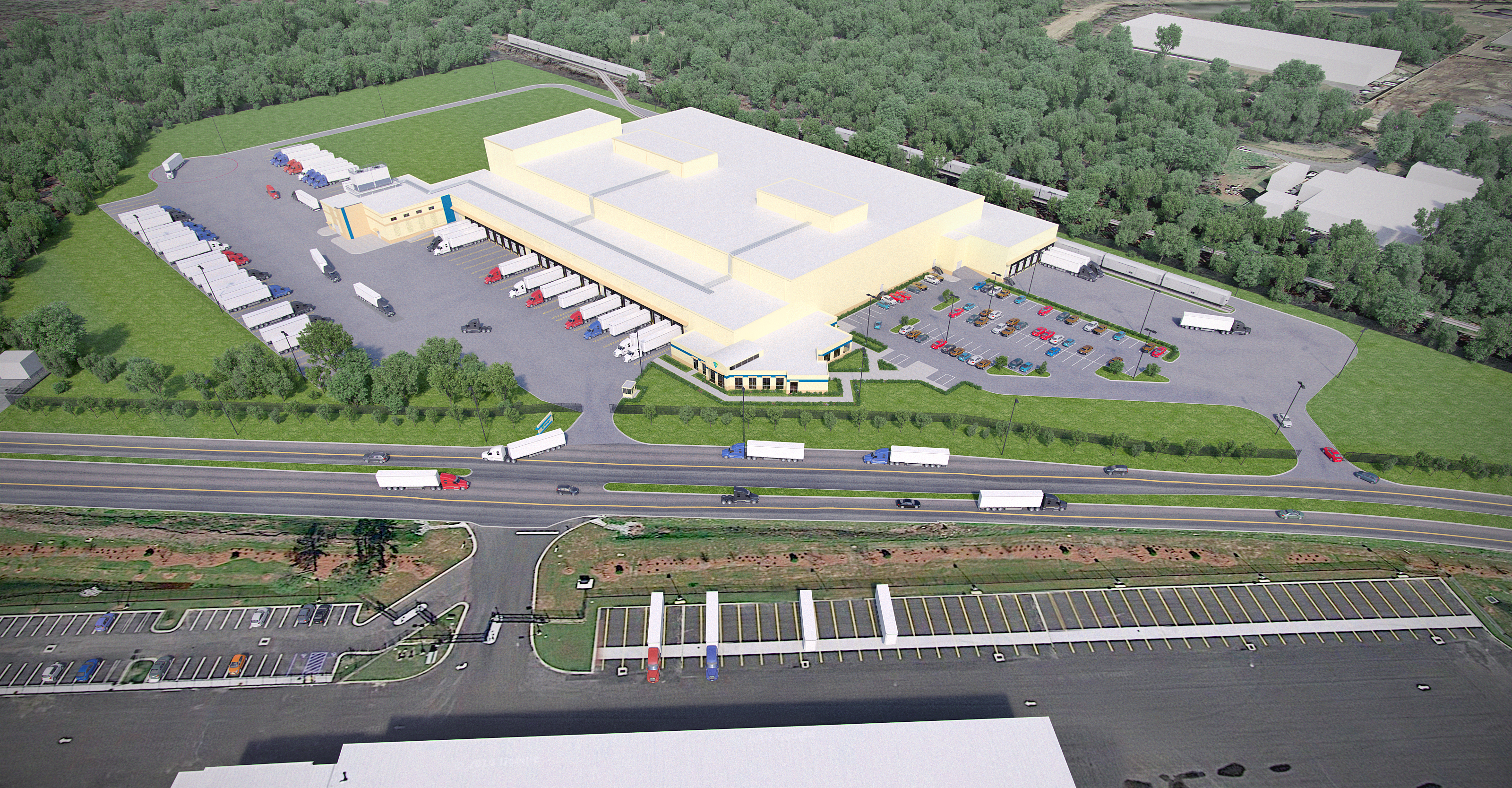 New Lineage Logistics Facility in Charleston Opens Doors ...