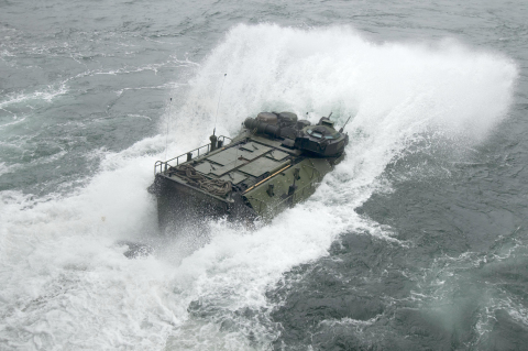 BAE Systems will produce Assault Amphibious Vehicles for the Japanese Ministry of Defense under a new contract. (Photo: BAE Systems)