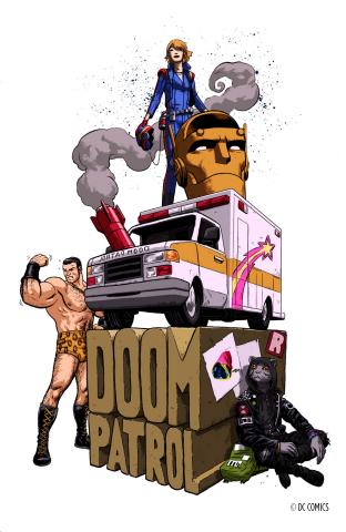 Doom Patrol Written by Gerard Way; Art by Nick Derington