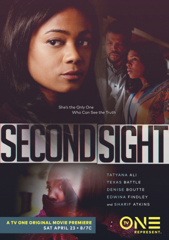 "Key Art for TV One's Original Thriller ""Second Sight."" Photo Credit: TV One"