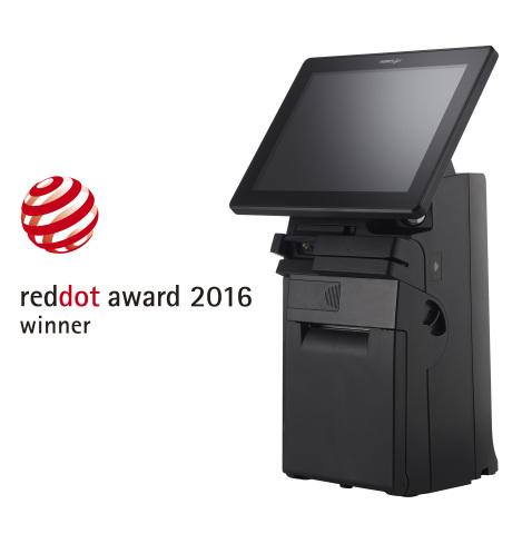 Mit dem HS-3510W gewinnt Posiflex einen dritten Red Dot Award in aufeinanderfolgenden Jahren. (Photo ...