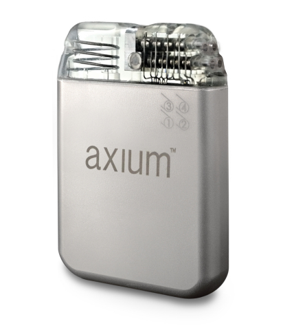 The St. Jude Medical Axium Neurostimulator System (Photo: Business Wire)