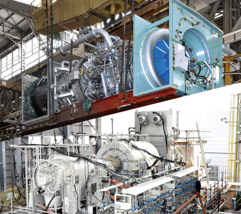 H-100 gas turbine/compressors for LNG plant (Photo: Business Wire)