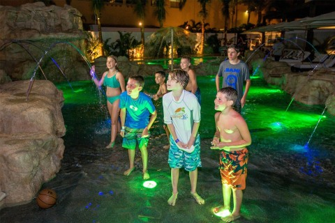 Splashing is up at the new Camp Tortuga kids camp at Cabo Azul Resort in San Jose del Cabo Mexico, a Diamond Resorts International(R) property. (Photo: Business Wire)