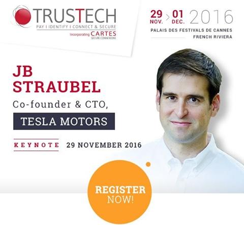 JB Straubel - Co-founder & CTO, Tesla Motors (Photo: Business Wire)