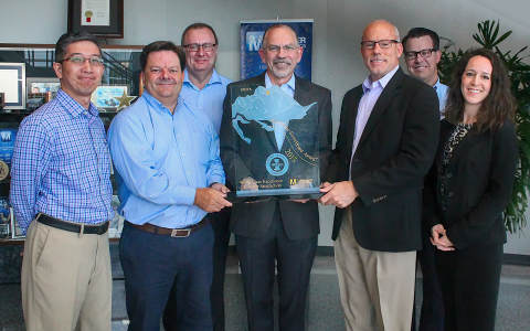 For the fourth consecutive year, Mouser Electronics has received the NorthFace ScoreBoard Award from ...