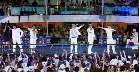 Rock This Boat: NKOTB Premieres Thursday, June 9 on Pop (Photo: Business Wire)