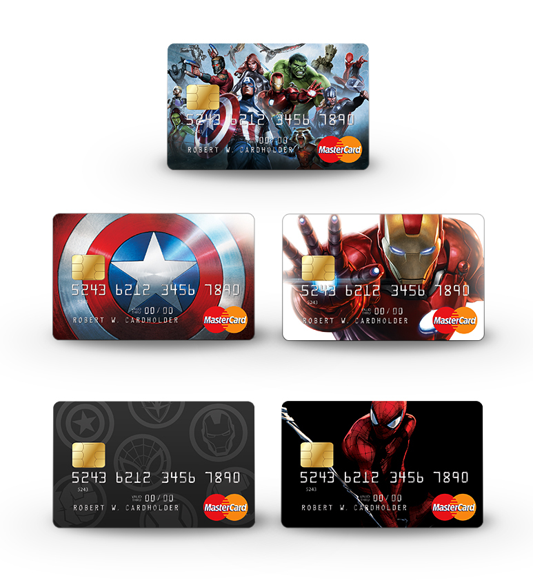 Unlock Your Super Powers with the New Marvel MasterCard® featuring ...