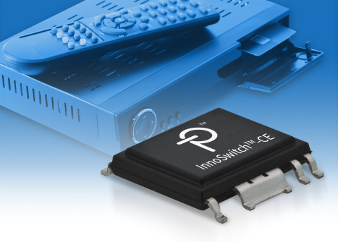 Power Integrations のスイッチング電源用 IC InnoSwitch-CE 電源効率及び待機電力の性能を最適化 (画像:ビジネスワイヤ)