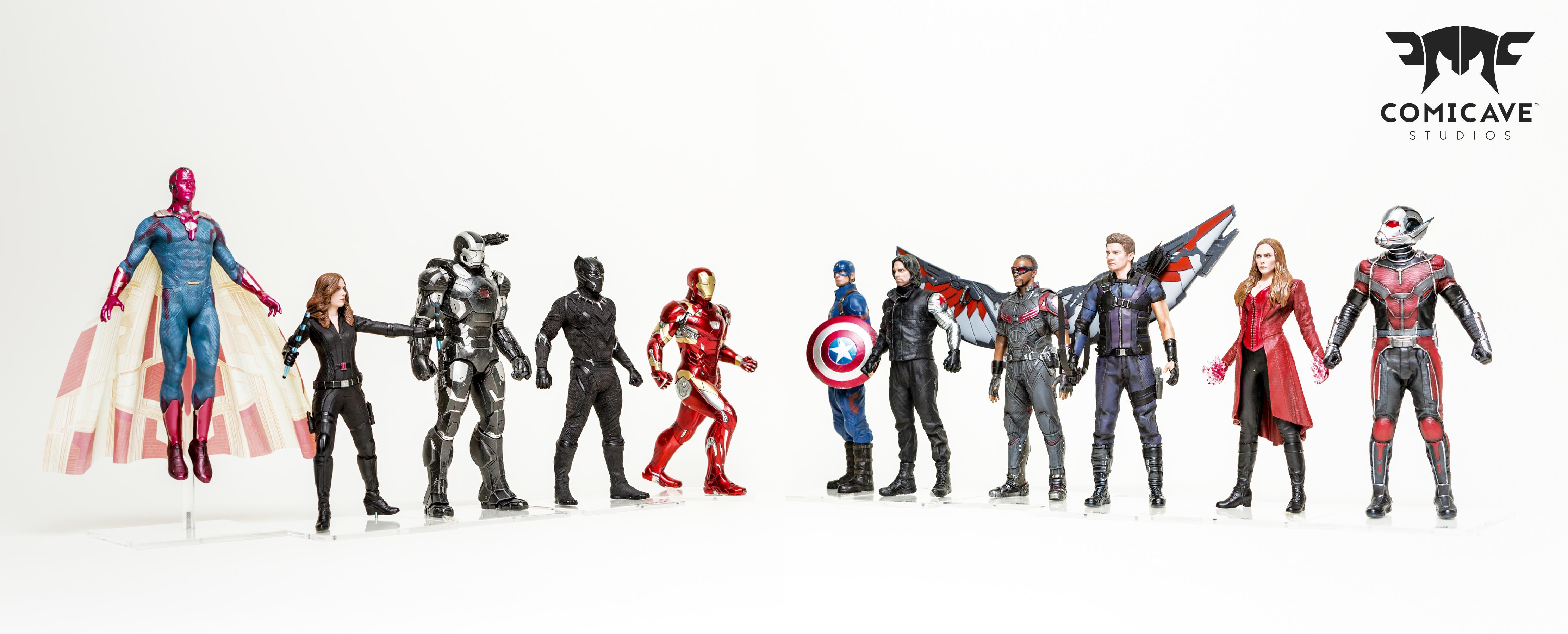 Al Ahli Group Unveils Comicave Studios Marvel Super Hero ...