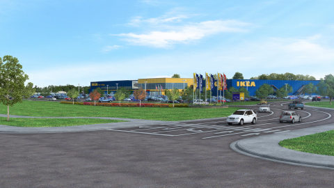 Swedish home furnishings retailer ikea secures contractors for Ikea in west chester ohio