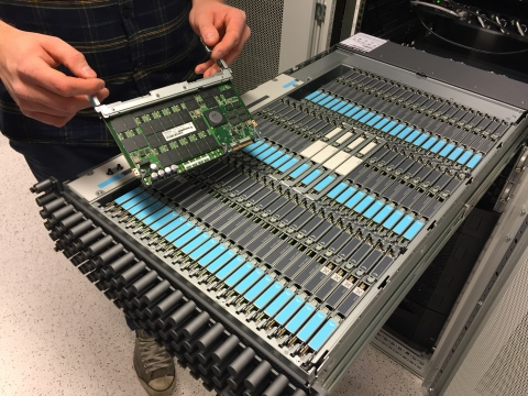 GleSYS Internet Services AB runs on Nexenta and SanDisk's combined NexentaStor/InfiniFlash™ system, the market's first Open Software-Defined Storage All Flash Array (Photo: Business Wire)