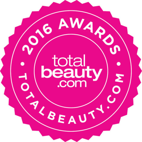 The 2016 TotalBeauty Awards Seal (Graphic: Business Wire)