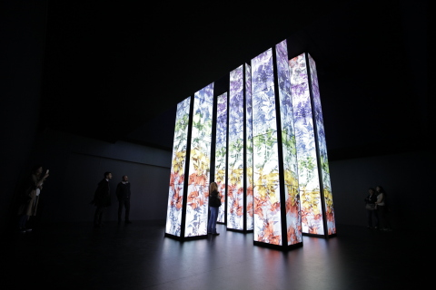 """KUKAN"" - The Invention of Space, Panasonic's installation at Milano Salone 2016 (Photo: Business Wi ..."